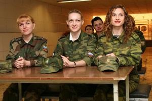 Что нужно девушке для службы в армии